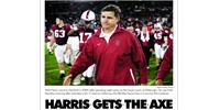 Harris fired
