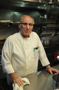Tony Dietz, at home in the Avanti Kitchen.