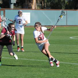 Lucy Dikeou freshman lacrosse