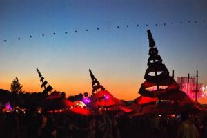 Sunset at Coachella 2013. Photo by Madeline Sides.