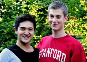 Jason Galisatus '15, BAYS executive director, and Nicholas Spears '15, deputy executive director. Courtesy of Jason Galisatus