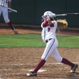 Senior shortstop Jenna Rich (2)