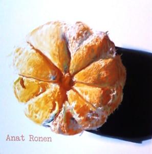 """Orange Slice"" by Anat Ronen. Photo by Tara Iyer."