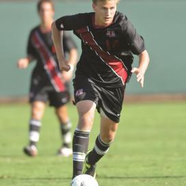 Junior forward Zach Batteer
