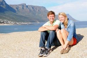 Hannah Boyd '14 and Graham Thompson '14 met the first day of their freshman year. Courtesy Hannah Boyd and Graham Thompson