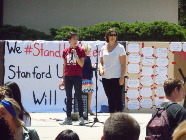 #StandWithLeah Rally