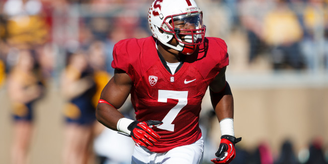 Montgomery, McCaffrey shine in Stanford's 45-0 rout of UC-Davis
