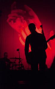 Lead singer Paul Banks of Interpol at FYF Fest 2014. Photo by Gabriela Groth.