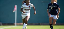 Women's soccer at full throttle heading into match with Santa Clara