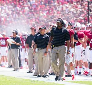 Stanford head football coach David Shaw
