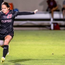 Stanford Daily, W Soccer, Lo'eau LaBonta 21
