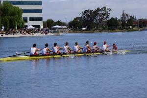 Men's rowing (above)