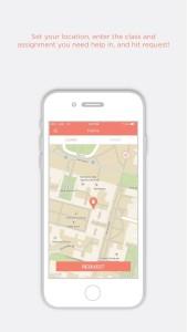 Sesh's Mobile App for iOS. (Courtesy of Vanford, Inc.)