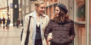 "Greta Gerwig and Lola Kirke star in ""Mistress America."" Photo by Sam Levy. courtesy of Sundance Institute."