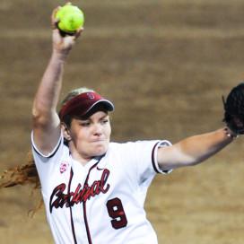 softball, versus UW, on April 11th