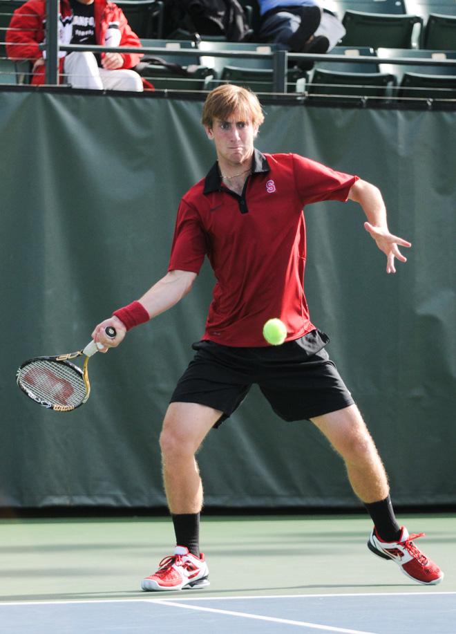 Men's tennis sweeps Hawaii, extends winning streak - The ...