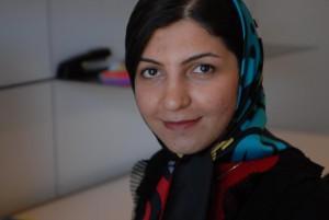 Farnaz Ronaghi, NovoEd cofounder. Courtesy of NovoEd
