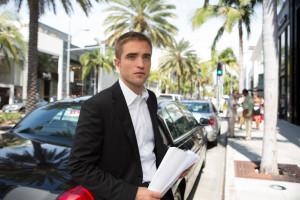 "Robert Pattinson in David Cronenberg's ""Maps to the Stars."" Courtesy of Focus World."