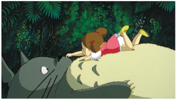 "Hayao Miyazaki's ""My Neighbor Totoro."" Photo courtesy of GKIDS © 2002 Nekonote-Do - GNDHMT."