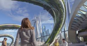 "Britt Robertson in Brad Bird's ""Tomorrowland."" (Courtesy of Film Frame/Disney)"