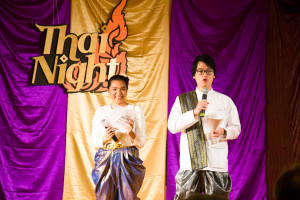 Thai Night involved food and dancing. (Courtesy of Paphop Sawasdee)