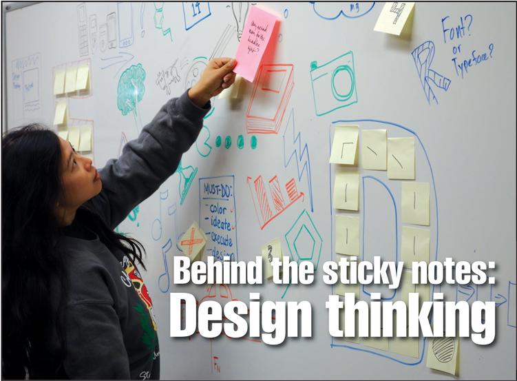 Design Thinking (RAHIM ULLAH/The Stanford Daily)