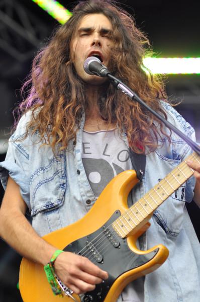 Brian DeMert on guitar. RAHIM ULLAH/The Stanford Daily