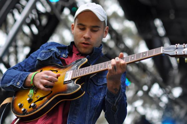 Guitarist Johnny Took of DMA's. RAHIM ULLAH/The Stanford Daily.