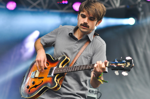 Bassist Alex Spoto. RAHIM ULLAH/The Stanford Daily