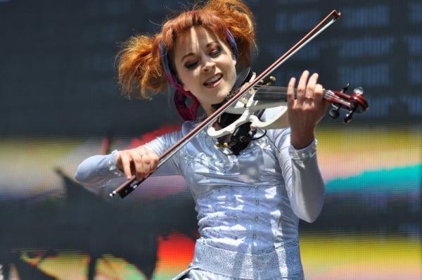Violinist Lindsey Stirling. RAHIM ULLAH/The Stanford Daily
