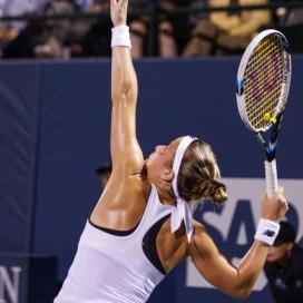 Bank of the West Classic, Elina Svitolina d. Nicole Gibbs (6-3, 7-6). Pictured: Nicole Gibbs Photo by Sam Girvin