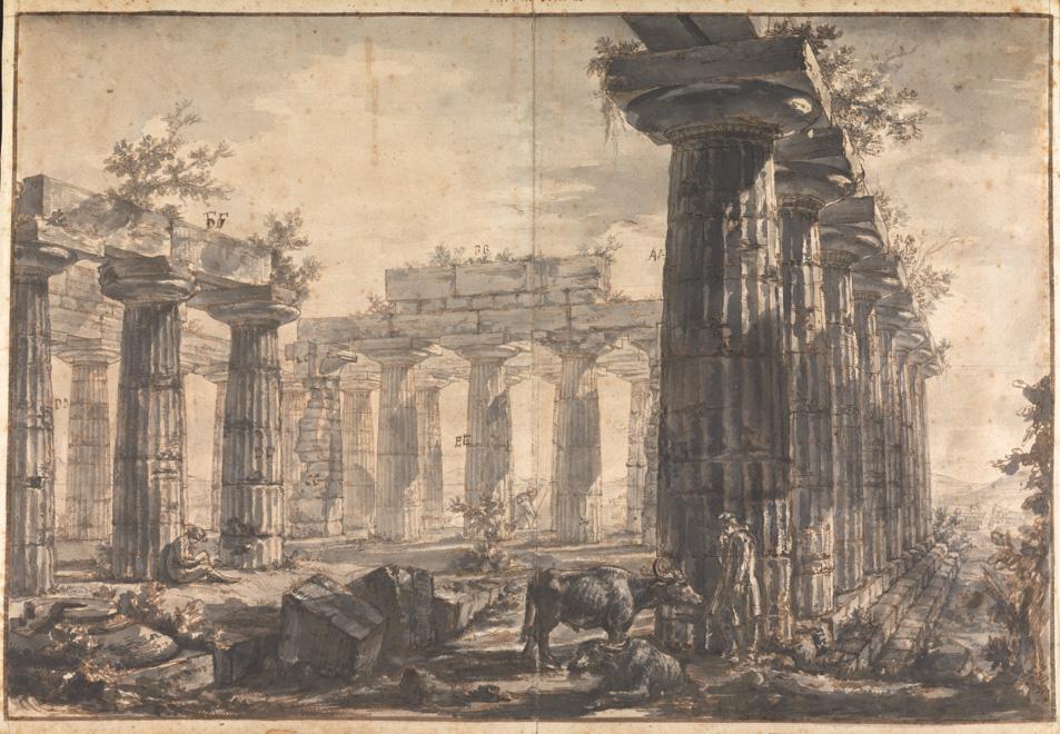 Greek Architecture Drawings Rare Piranesi drawings...