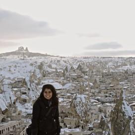 Sri Muppidi '17 enjoyed Cappadocia during her study abroad last winter (Courtesy of Sri Muppidi).