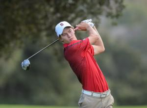 Stanford, California - Thursday, September 25, 2014: The Stanford Golf Team.