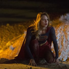 "Melissa Benoist stars as ""Supergirl."" (Courtesy of Darren Michaels, CBS)"