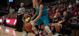 Women's basketball falls to unranked Santa Clara after beating top-25 GW