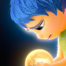 "Joy (Amy Poehler) in Pixar's ""Inside Out."" (Courtesy of Disney)"