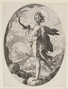 "Hendrick Goltzius's ""Apollo."" Courtesy of Cantor Arts Center"