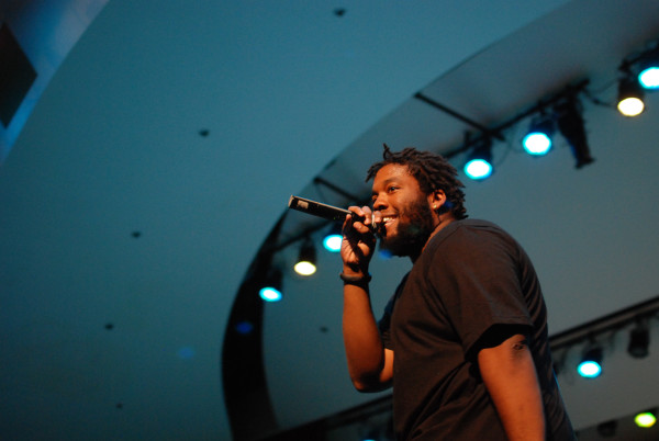 Eli Arbor performing at Blackfest last spring. (RAHIM ULLAH/The Stanford Daily)