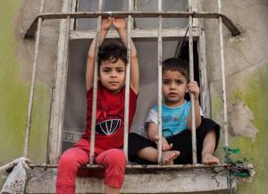 Syrian refugees in Istanbul, 2015. (Courtesy of Udit Goyal)