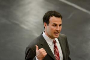 Stanford head coach Jason Borrelli (above) (RAHIM ULLAH/The Stanford Daily).