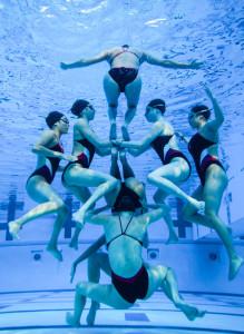 Synchronized Swimming. Courtesy of Rina Horii
