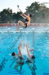 Synchronized Swimming. Courtesy of Emma Coleman