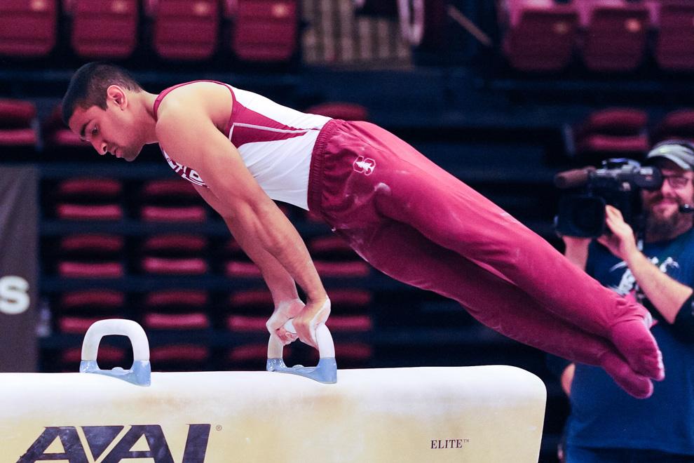 Gymnasts Continue Individual Success At Winter Cup