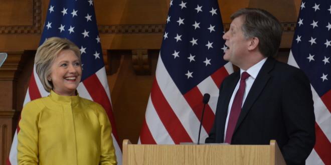 Hillary Clinton visits Stanford, addresses counterterrorism