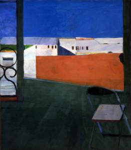"Richard Diebenkorn's ""Window."" Courtesy of Cantor Arts Center"