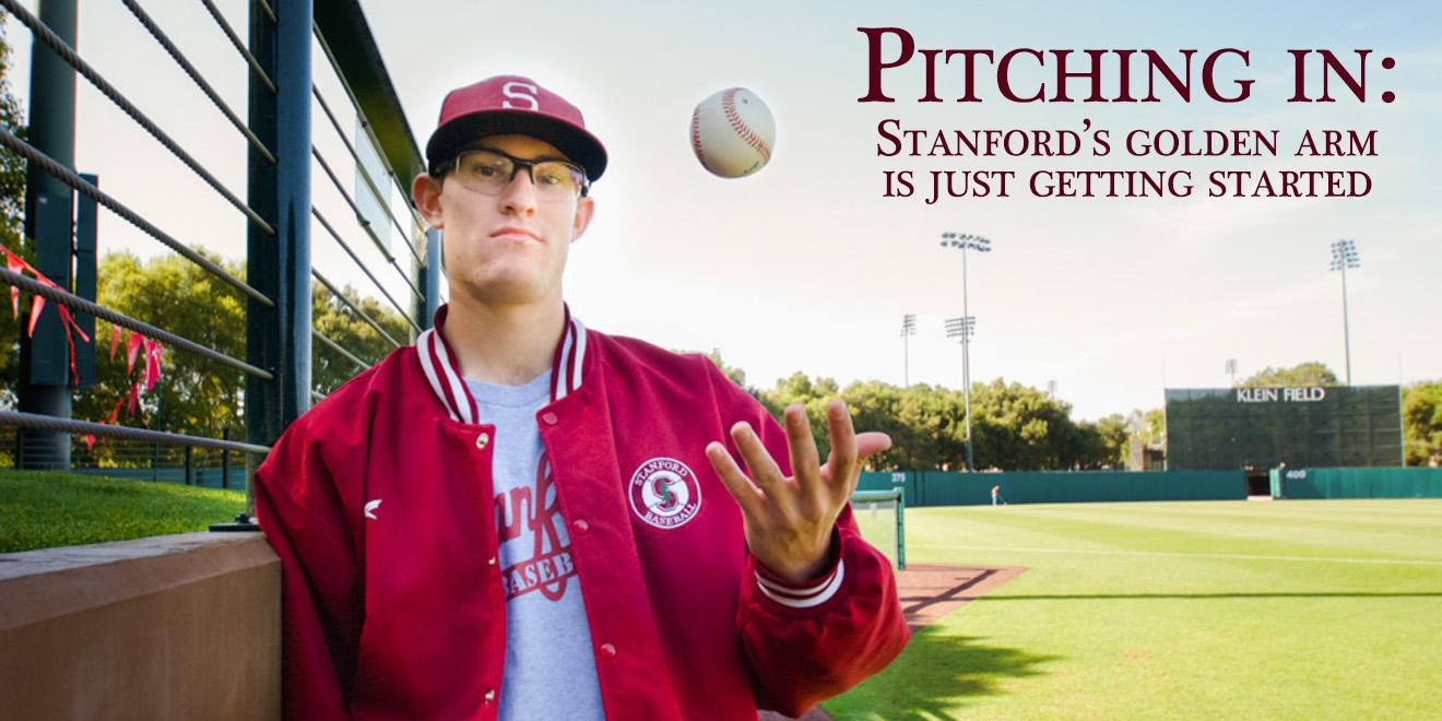 Tristan Beck (RAHIM ULLAH/The Stanford Daily)