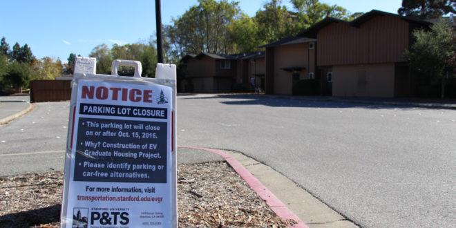 Parking crunch feared as construction affects graduate parking