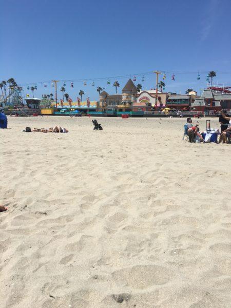 The Santa Cruz boardwalk. (JULIE PLUMMER/The Stanford Daily)