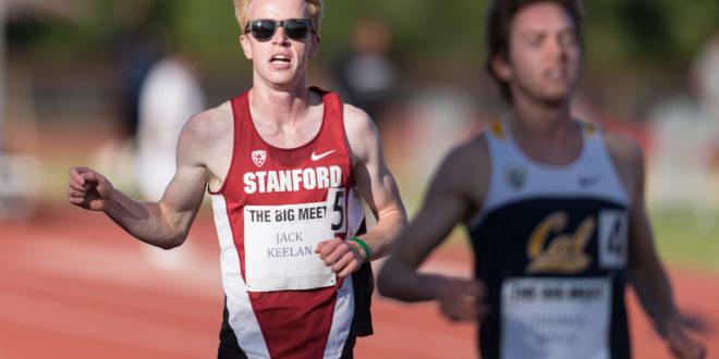 Cross country runs table at NCAA Regionals